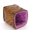 Home Addictions: Baskets & Boxes - Nana Basket - Tall (Glossy Brown & Light Purple), by  KOCH