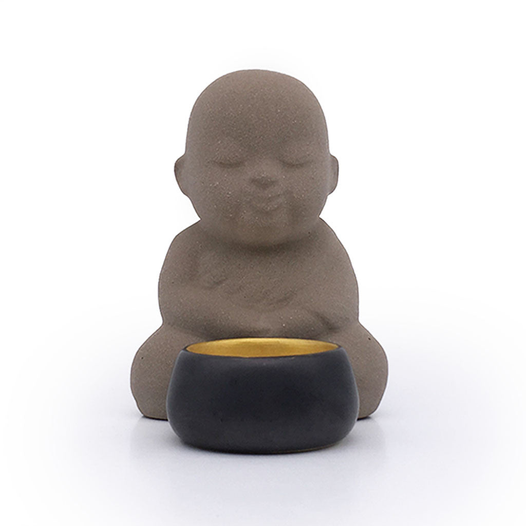 Home Addictions: Candle Holders - Monk Candle Holder - Natural (Sand), by  Meelarp Ceramics