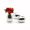 Home Addictions: Vases - Chrome Vase - Flat Oval, by  ML Living
