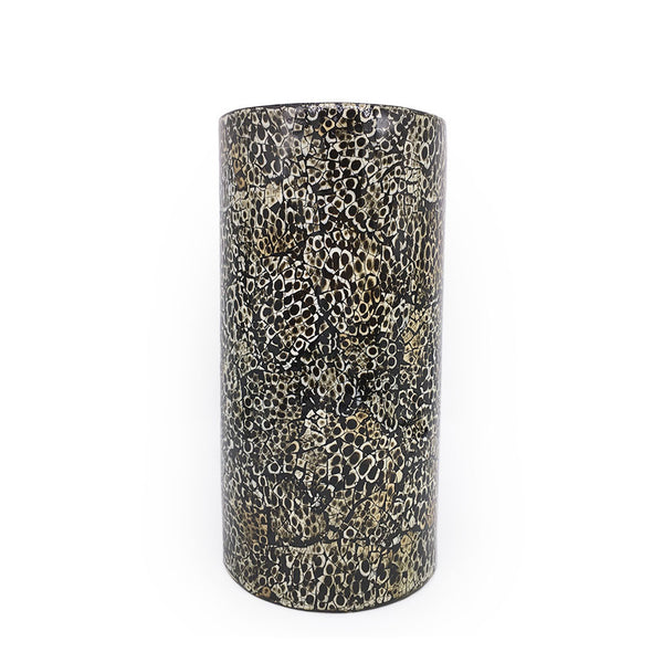 Home Addictions: Vases - Black Ophidian Ceramic Vase, by  O'thentique