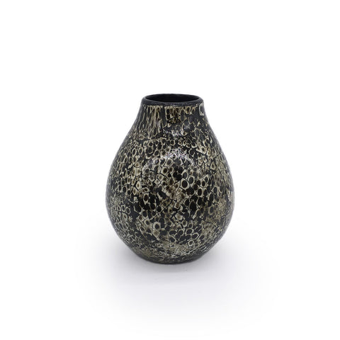 Home Addictions: Vases - Pear Shape Vase - Black Ophidian (Small), by  O'thentique