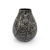 Home Addictions: Vases - Pear Shape Vase Black - Black Ophidian (Large), by  O'thentique