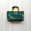 Home Addictions: Lifestyle - Purse Organizer - Green & Mustard, by  Penguins Smile