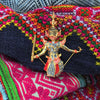 Home Addictions: Lifestyle - Brooch - Yaksha, by  Sirasilpa Craft