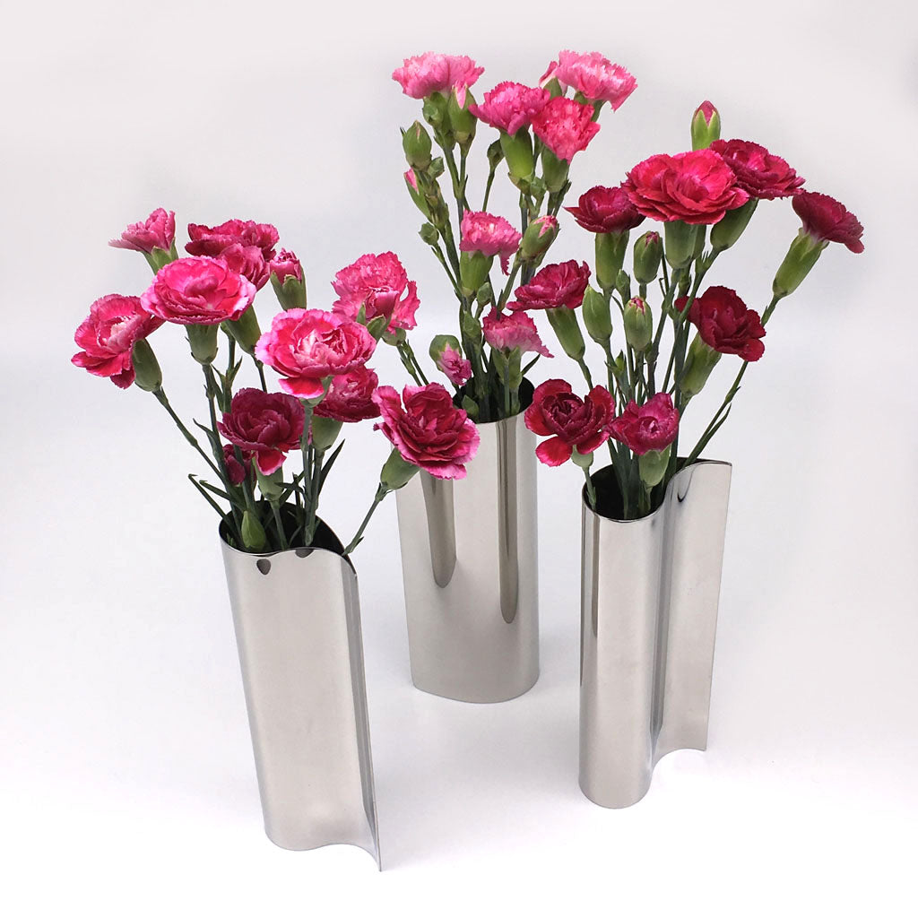 Home Addictions: Vases - Comma-shaped Stainless Steel Vase, by  Home Addictions