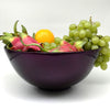 Home Addictions:  - Lacquer Glazed Round Bowl - Aubergine, by  Home Addictions