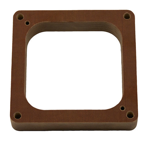 "Model 5015-X - Holley 750 - 1"" Phenolic ""POWER CONE"" Carb Spacer for 750 CFM Holley 4150"