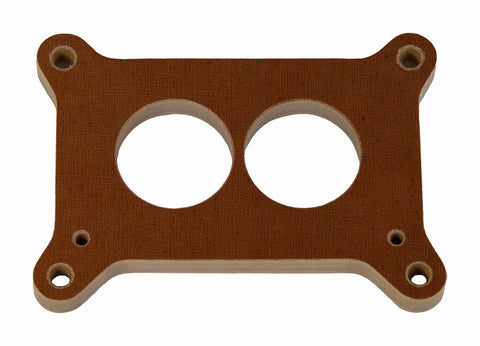 "Holly 500 - 1/2"" Phenolic 2-Hole Carburetor Spacer"