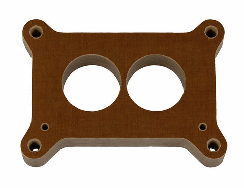 "Holly 500 - 1"" Phenolic 2-Hole Carburetor Spacer"