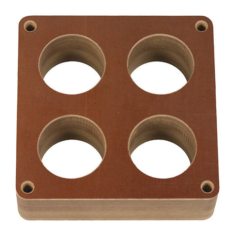 "Model 5165 - Holley 4500 Dominator - 2"" Phenolic 4-hole Carb Spacer"