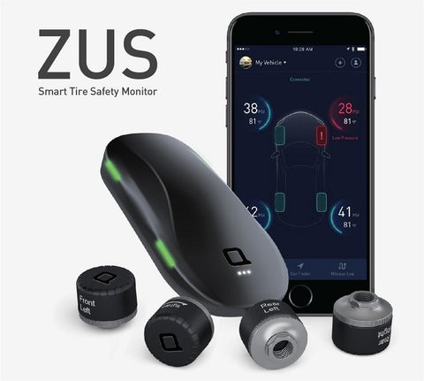 ZUS SMART TIRE SAFETY MONITOR智能胎壓監測器