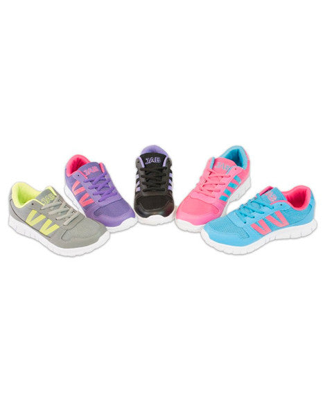 Girls Athletic Shoes, Kids Sizes