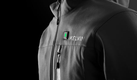 Kelvin Black jacket Close up