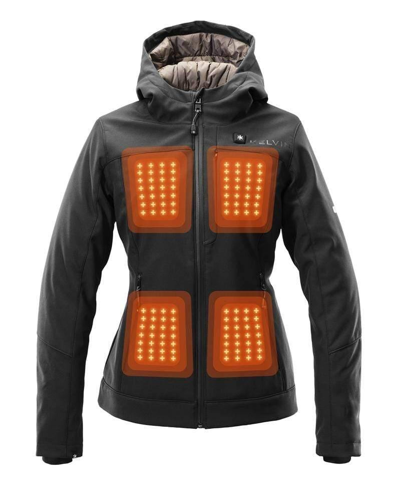 Fullerton Women's Heated Jacket | Black