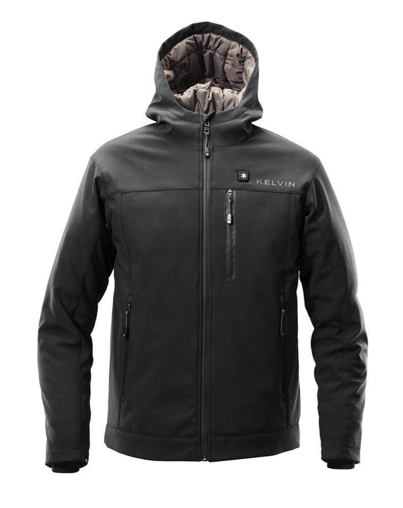 Kelvin Coats Heated Jacket Jarvis Men's Heated Jacket | Black