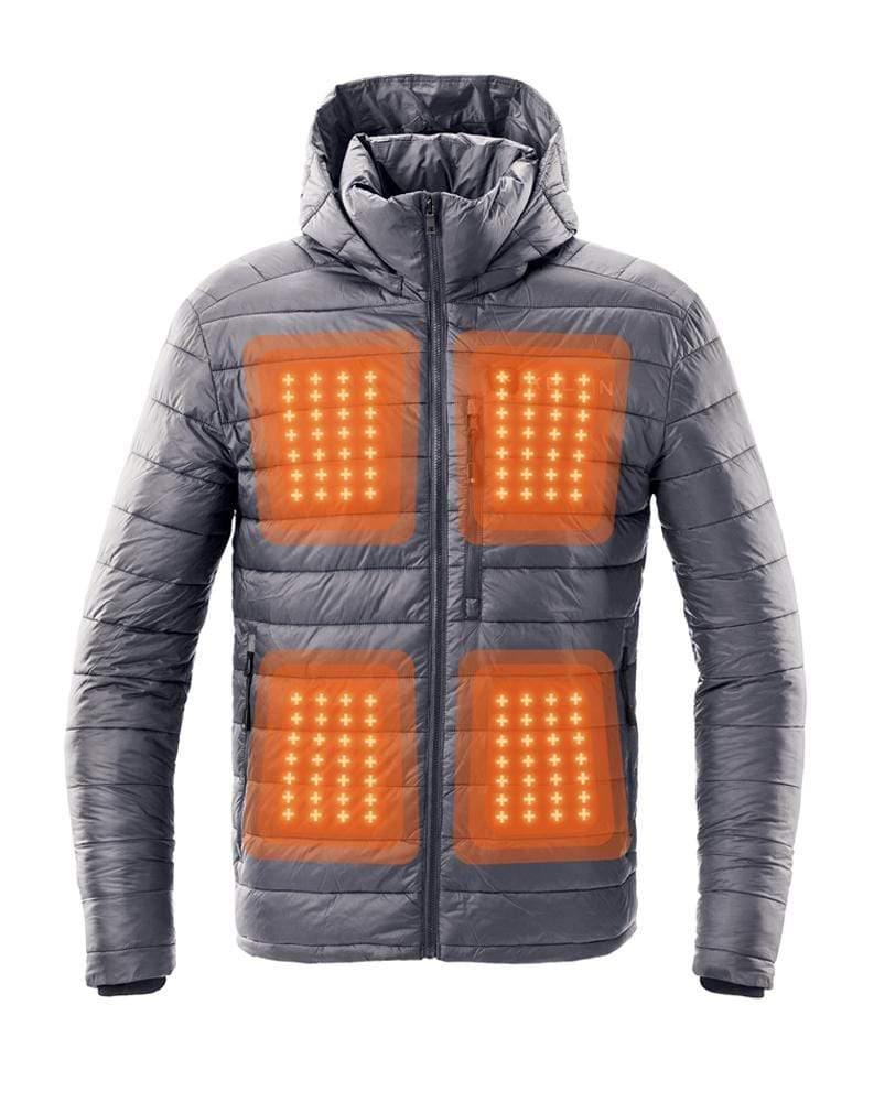 Kelvin Coats Heated Jacket Phantom Men's Heated Jacket | Graphite Grey