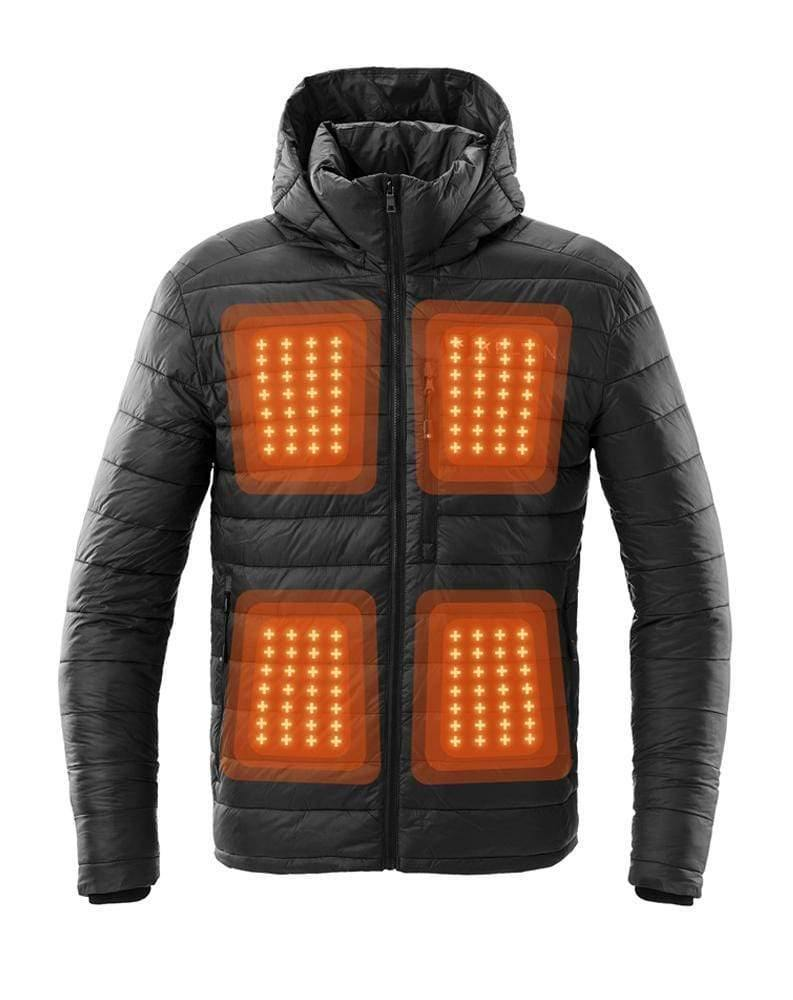 Kelvin Coats Heated Jacket Phantom Men's Heated Jacket | Jet Black