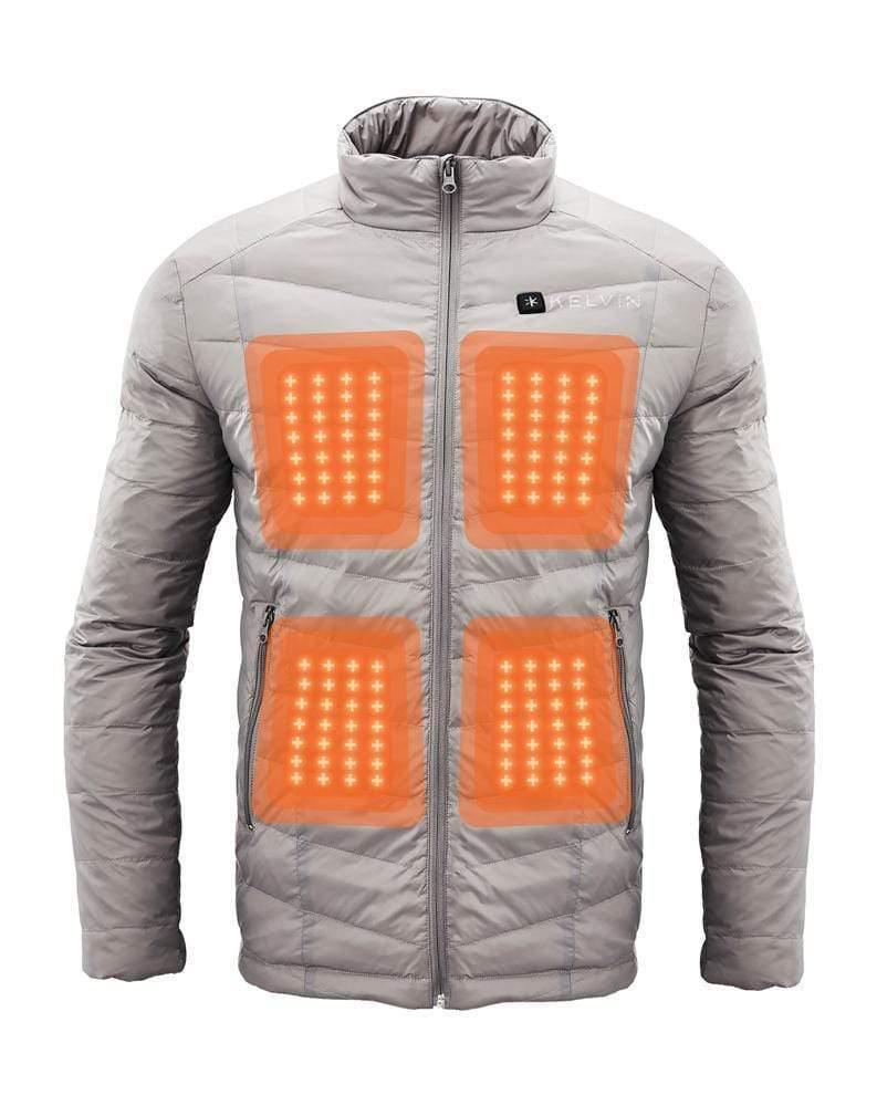 Kelvin Ware Heated Jacket Cermak Men's Heated Jacket | Grey