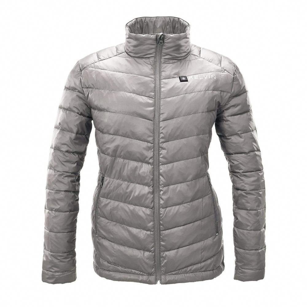 Kelvin Ware Heated Jacket Extra Small / Grey Cermak Women's Heated Jacket | Grey