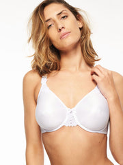 Chantelle Hedona Full Cup Bra - White Full Cup Bra Chantelle