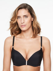 Chantelle Absolute Invisible Push Up Bra - Black Push Up Bra Chantelle