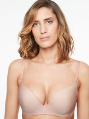 Chantelle Absolute Invisible Push Up Bra - Golden Beige