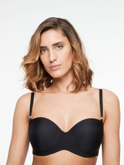 Chantelle Absolute Invisible Bandeau Bra - Black