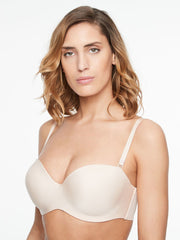 Chantelle Absolute Invisible Bandeau Bra - Golden Beige