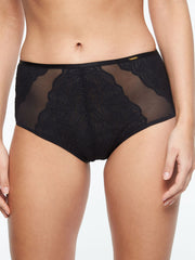 Chantelle Pyramide High Waist Brief - Schwarz