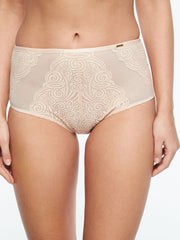 Chantelle Pyramide High Waist Brief - Golden Beige
