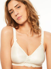 Chantelle Hedona Non Wired Full Cup Bra - Ivory Soft Cup Bra Chantelle