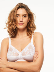Chantelle Amazone Non Wired Full Cup Bra - White Soft Cup Bra Chantelle