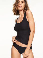 Débardeur stretch doux Chantelle - Top noir Chantelle