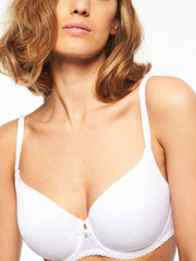 Chantelle Courcelles Spacer Bra - White