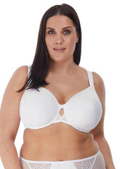 Elomi Charley Underwired Bandless Spacer Molded Bra-화이트 스페이서 브라 Elomi