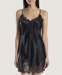 Aubade - Soie d'Amour Nighty - Negro