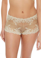 Wacoal - Embrace Lace Naturally Ivory Boy Short Nude