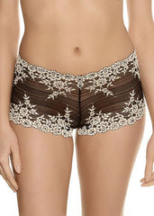 Wacoal - Embrace Lace Boy Short Nero