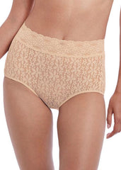 Wacoal - Halo Lace Full Brief Nude