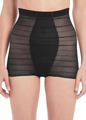 Wacoal - Sexy Shaping Boyshort mit hoher Taille Schwarz