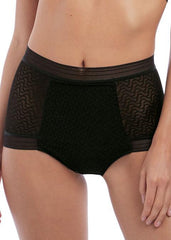Wacoal - Aphrodite High Waist Brief Schwarz
