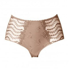 Louisa Bracq - Lys Royal Maille Full Brief - Nude