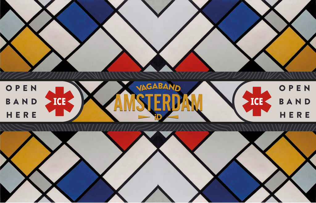 Amsterdam Destination Band - Vagaband LTD