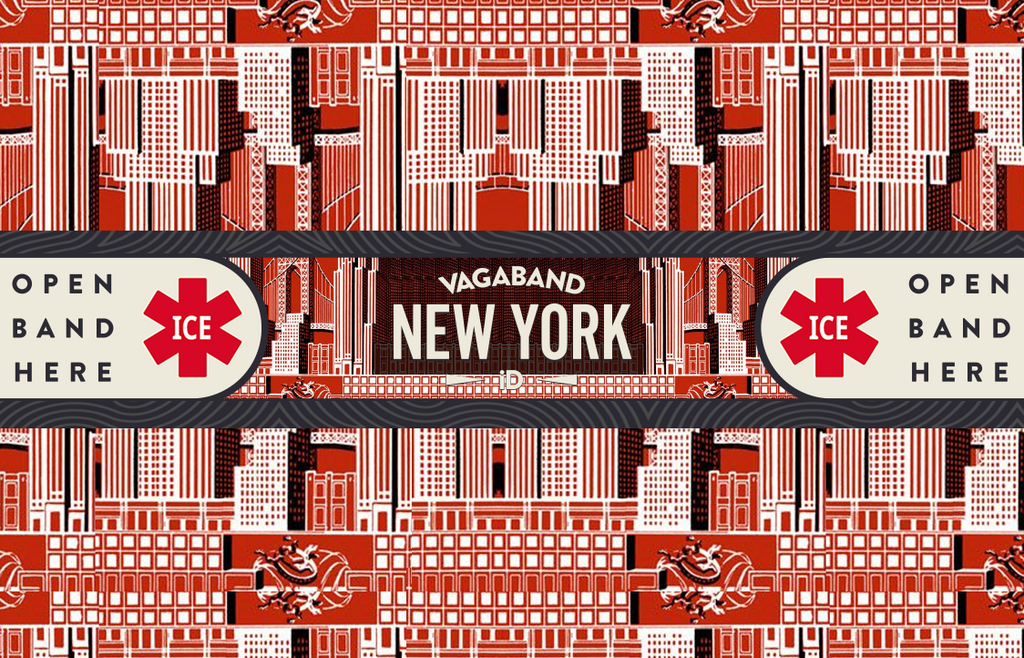 Destination NYC Vagaband (Art Deco) - Vagaband LTD