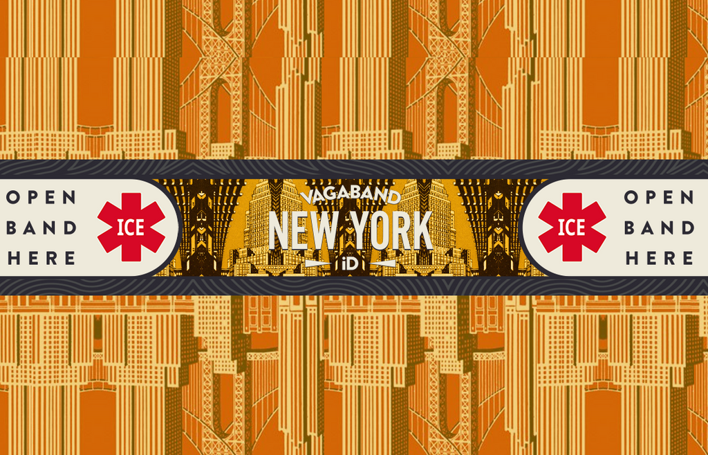 Destination N.Y.C Vagaband (Cabby Yellow) - Vagaband LTD