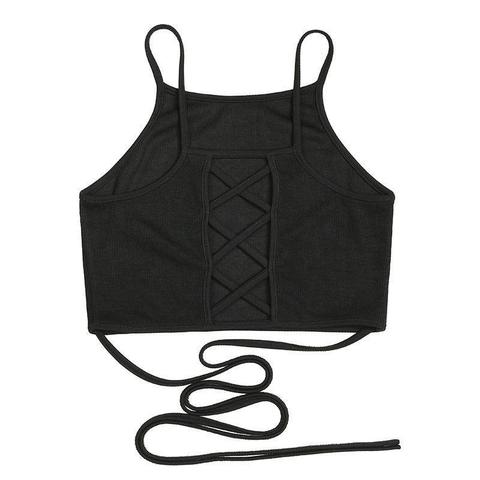 Summer Cross Back Top - Let's Be Gothic, nightwear, clothing, punk, dark