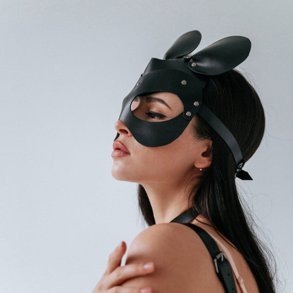 Mouse Leather Mask - Let's Be Gothic, nightwear, clothing, punk, dark