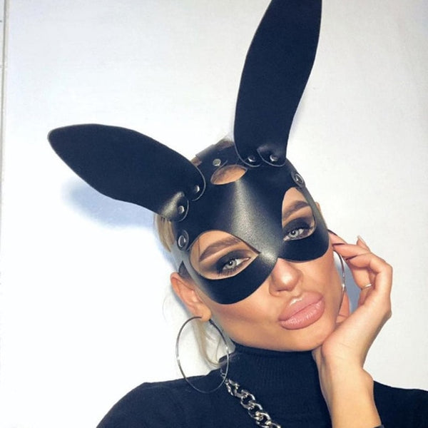 Bunny Sexy Mask - Let's Be Gothic, nightwear, clothing, punk, dark