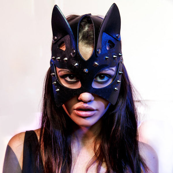 Harness Bold Mask - Let's Be Gothic, nightwear, clothing, punk, dark