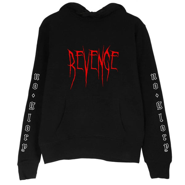 Revenge Goth Hoodie - Let's Be Gothic, nightwear, clothing, punk, dark